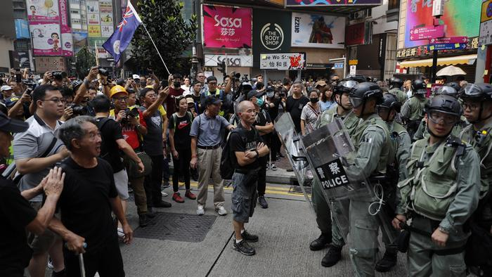 Mass protests continue in Hong Kong