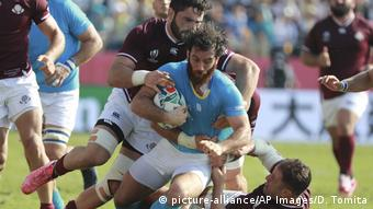 Rugby World Cup | Gerogien vs Uruguay