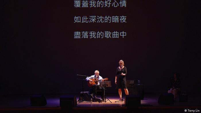 """Taiwan Taipei   Wolf Biermann beim """"Taipei Poetry Festival 2019"""""""