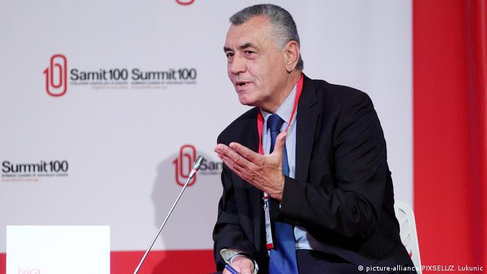 Slowenien Portorož   Gipfeltreffen von Wirtschaftsvertretern - Ivica Mudrinic
