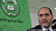 Algerien MSP-Islamistenführer Makri