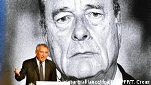Frankreich Guidel   Trauerfeier für ehemaligen Präsidenten Jacques Chirac - Francois Bayrou