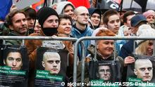 Russland Moskau | Demonstration der Opposition