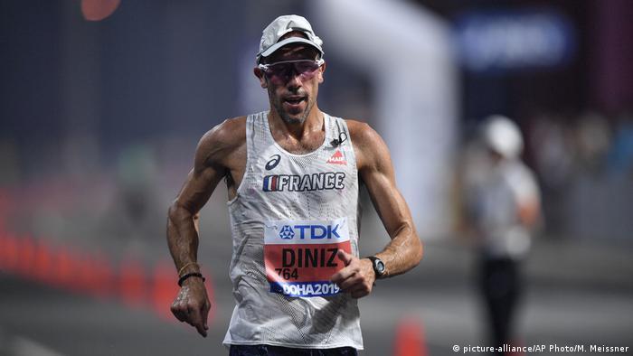 Katar | Leichtathletik Weltmeisterschaften in Doha 2019 Yohann Diniz (picture-alliance/AP Photo/M. Meissner)