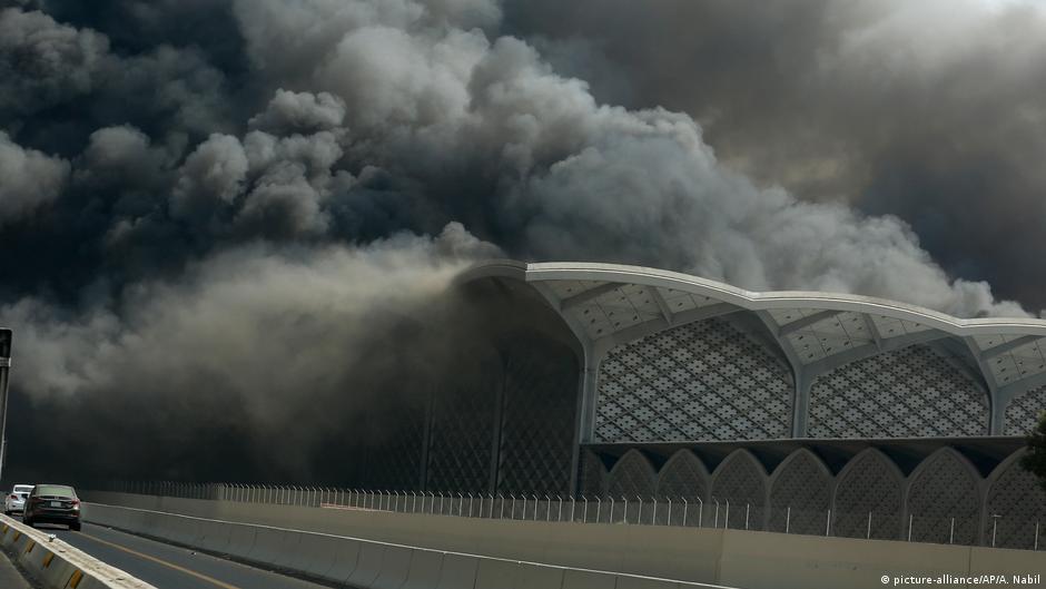 Fire engulfs new Saudi high-speed rail station in Jeddah