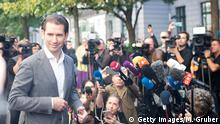 Österreich Wien Parlamentswahl Kurz