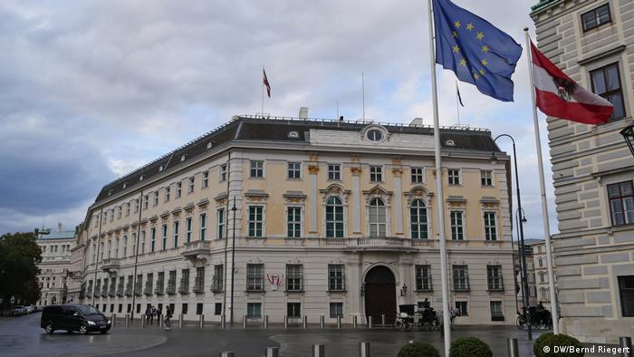 Österreich Wien Bundeskanzleramt am Ballhausplatz (DW/Bernd Riegert)