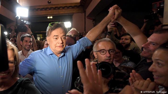 Werner Kogler liderliğindeki Yeşiller oylarını yaklaşık 10 puan artırdı