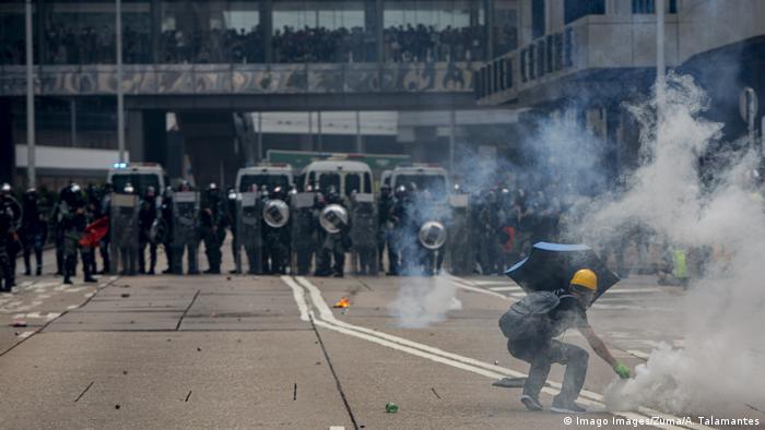 Hongkong Anti Regierungsproteste (Imago Images/Zuma/A. Talamantes)