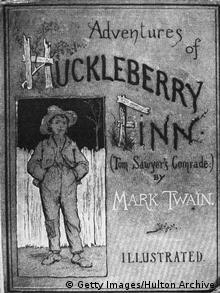 Buchcover von Huckleberry Finn (1884)