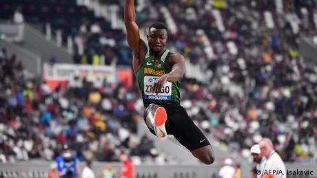 Leichtathletik-WM Doha 2019 | Dreisprung Bronzemedaillengewinner Fabrice Zango