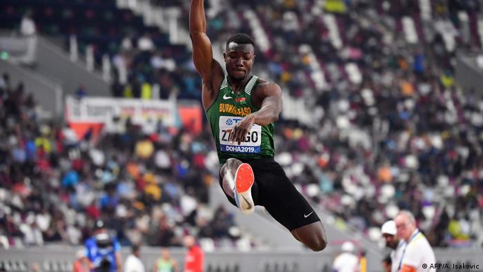 Tokyo 2020 Olympic Video games: Hugues Fabrice Zango, the hope of Burkina Faso |  DW Sport |  DW