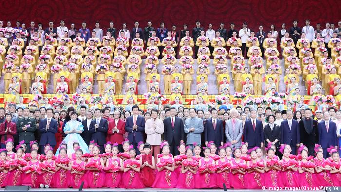 Chinese government celebrating 70 years of PRC