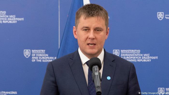 Der tschechische Außenminister Tomáš Petříček