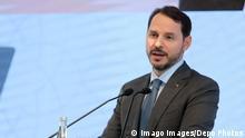 Türkei Jahrestag EBRD | Finanzminister Berat Albayrak in Istambil