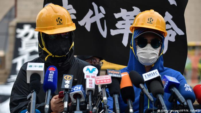 Hongkong PK von Regierungsgegner