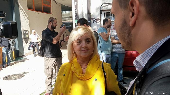 Borka Rudić, generalna sekretarka Udruženja BH novinari