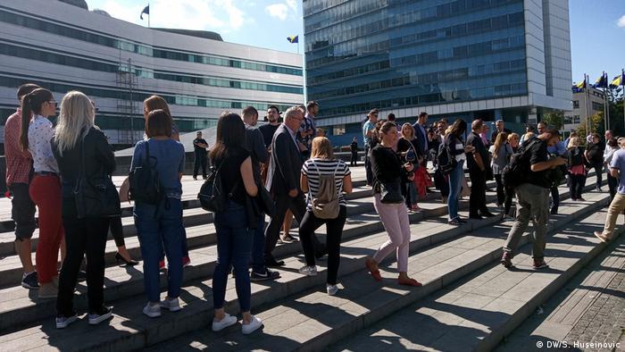 Bosnien und Herzegowina | Protest gegen Gewalt gegen Journalisten in Sarajevo