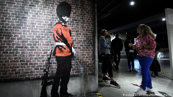 BG Banksy | The World of Banksy (picture-alliance/dpa/MAXPPP/A. Marchi)