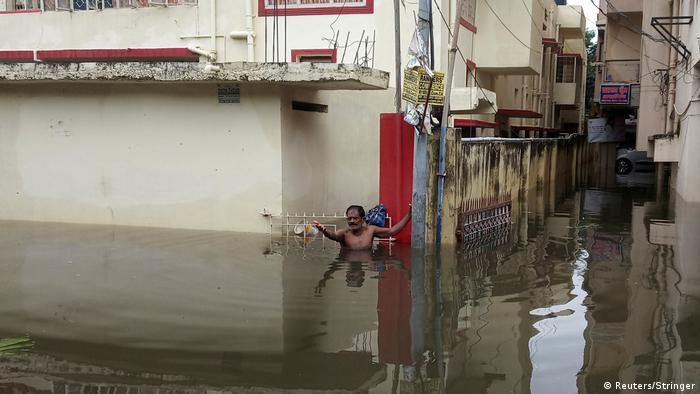 Indien | Überschwemmungen in Bihar (Reuters/Stringer)