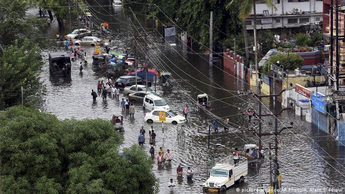 More than 100 killed in India after heavy monsoon season rains