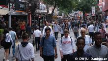 A crowded street in the Turkish capital of Ankara, August 2019