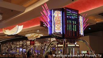 Macau | MGM Cotai Resort Casino (picture-alliance/AP Photo/V. Yu)