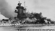Zweiter Weltkrieg deutsches Panzerschiff Admiral Graf Spee
