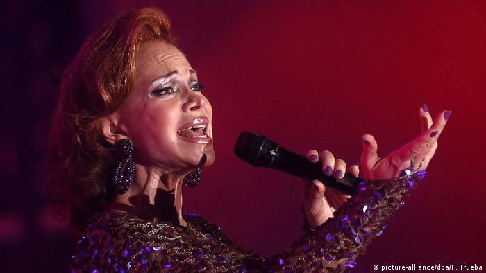 La española Paloma Cecilia San Basilio nació en 1950.