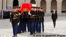 Frankreich Trauerfeier Jacques Chirac