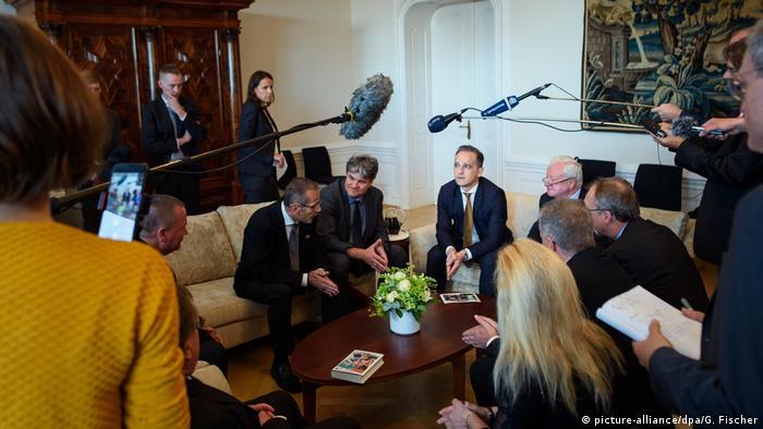 Tschechien Prag | Außenminister Heiko Maas in der deutschen Botschaft