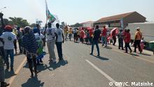 Daviz Simango Kandidat Präsidentschaftswahl in Mosambik Fotograf: DW Korrespondent Carlos Matsinhe