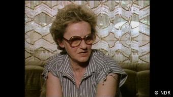 Filmstill aus dem Dokumentarfilm Der Prozess | Erna Wallisch im Jahr 1980