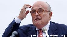 Rudy Giuliani persönlicher Anwalt Donald Trump (picture-alliance/AP Photo/C. Krupa)