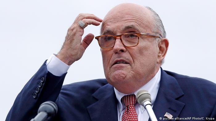 Rudy Giuliani persönlicher Anwalt Donald Trump