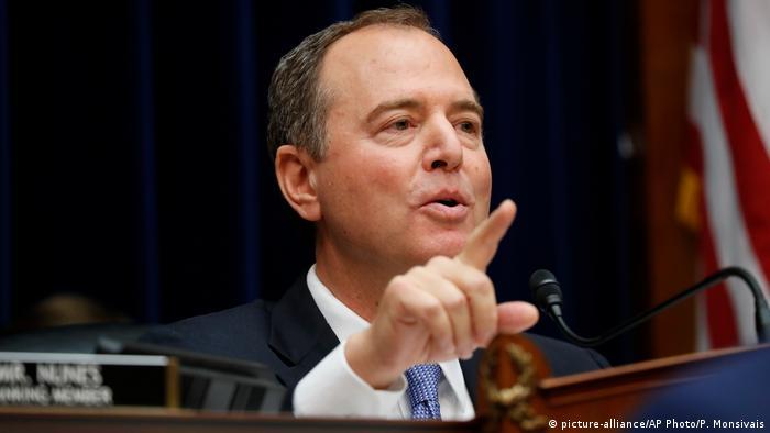 Temsilciler Meclisi İstihbarat Komitesi'nin Demokrat Partili Başkanı Adam Schiff