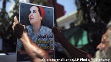 Marokko Prozess Hajar Raissouni Protest