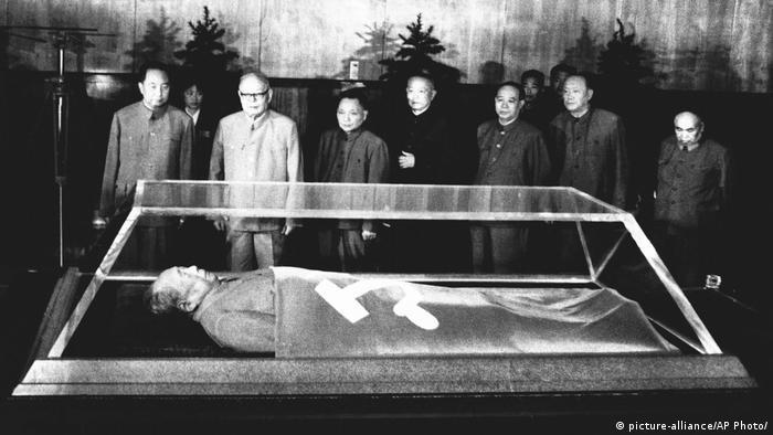 China KP Führung Mao Tod
