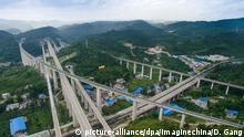 China Guiyang Infrastrukturausbau Neue Seidenstraße