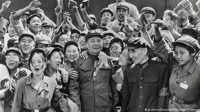 Mao Cedung 1966, tokom Kulturne revolucije