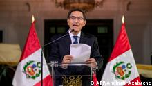 Peru Lima Präsident Martin Vizcarra löst Parlament auf