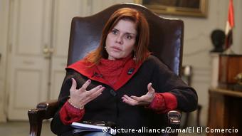 Mercedes Aráoz Interview (picture-alliance/Zuma/El El Comercio)
