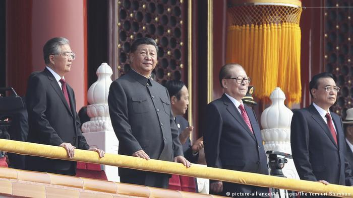 Peking Parade 70 Jahre Volksrepublik China Ansprache Xi