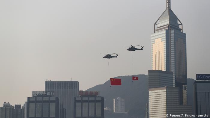 Hongkong 70 Jahre Volksrepublik China