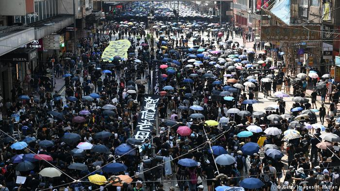 Hongkong Demonstration (Getty Images/M. Rasfan)