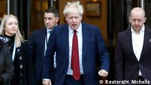 Großbritannien Boris Johnson beim Parteikongress in Manchester