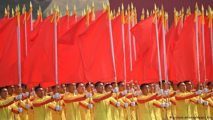 Парад в честь 70-летия Китайской Народной Республики 1 октября 2019 года в Пекине