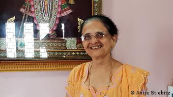 Die Ärztin Surekha Sha aus Porbandar