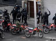 سرکوب معترضان در ماههای پس از انتخابات ریاست جمهوری در تهران