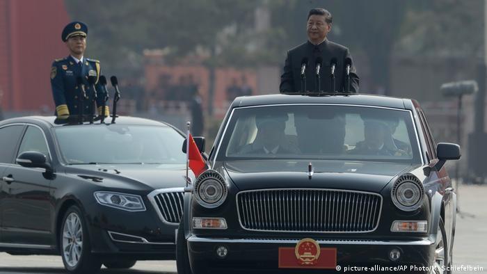 BG Waffensysteme der VR China | Xi Jinping bei der Parade zum 70. Jahrestag Volksrepublik